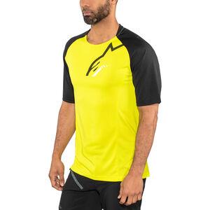 Alpinestars Trailstar Shortsleeve Jersey Men acid yellow/black bei fahrrad.de Online