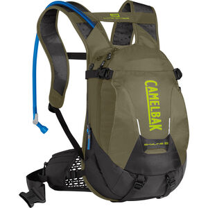 CamelBak Skyline LR 10 Trinkrucksack burnt olive/lime punch burnt olive/lime punch