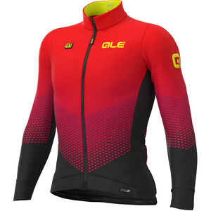 Alé Cycling PR-S Delta Micro Jersey Herren black-bordeaux-red black-bordeaux-red
