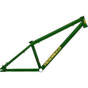 NS Bikes Suburban Dirt Frame trans green trans green