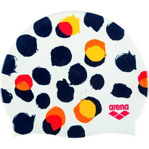 arena Print 2 Cap polka dot white polka dot white