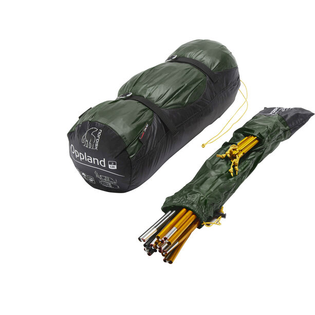 Nordisk Oppland 2 LW Tent forest green