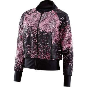 Skins Interlect Bomber Jacket Women Stardust Flamingo