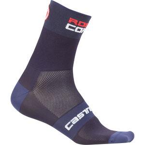 Castelli Rossocorsa 9 Socks dark/steel blue dark/steel blue