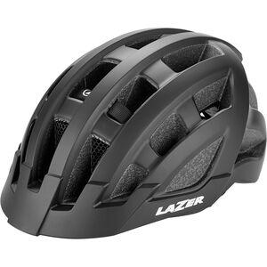 Lazer Compact Deluxe Helmet matte black matte black