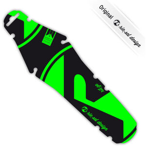 rie:sel design rit:ze Rear Mudguard for Saddles green green