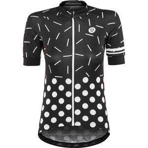 AGU Sprinkle Dot Shortsleeve Jersey Damen black/white black/white