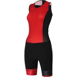 Santini Redux Trisuit SL Damen rosso rosso