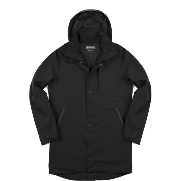 Chrome Stanton Regen Trench Coat Herren black