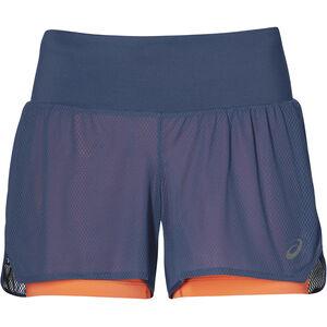 asics Cool 2-In-1 Shorts Damen grand shark grand shark