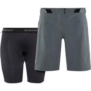 Ziener Ceita X-Function Shorts Damen ebony ebony