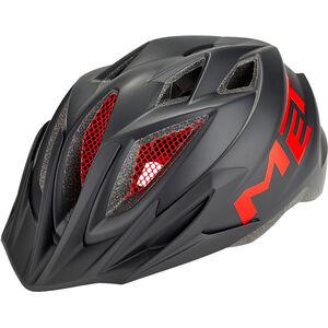 MET Crackerjack Helm black/red