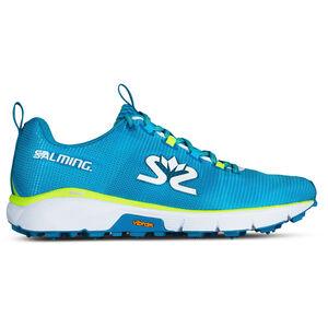 Salming iSpike Shoes Herren cyan blue/white cyan blue/white