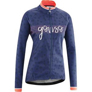 Gonso Julienne Full-Zip Langarm Trikot Damen medieval blue medieval blue