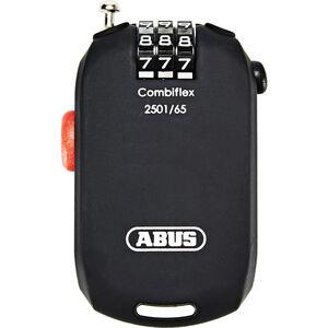 ABUS Combiflex 2501 Roll-Kabelschloss schwarz schwarz