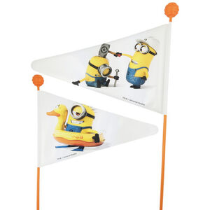 Bike Fashion Minion Wimpelstange weiß weiß