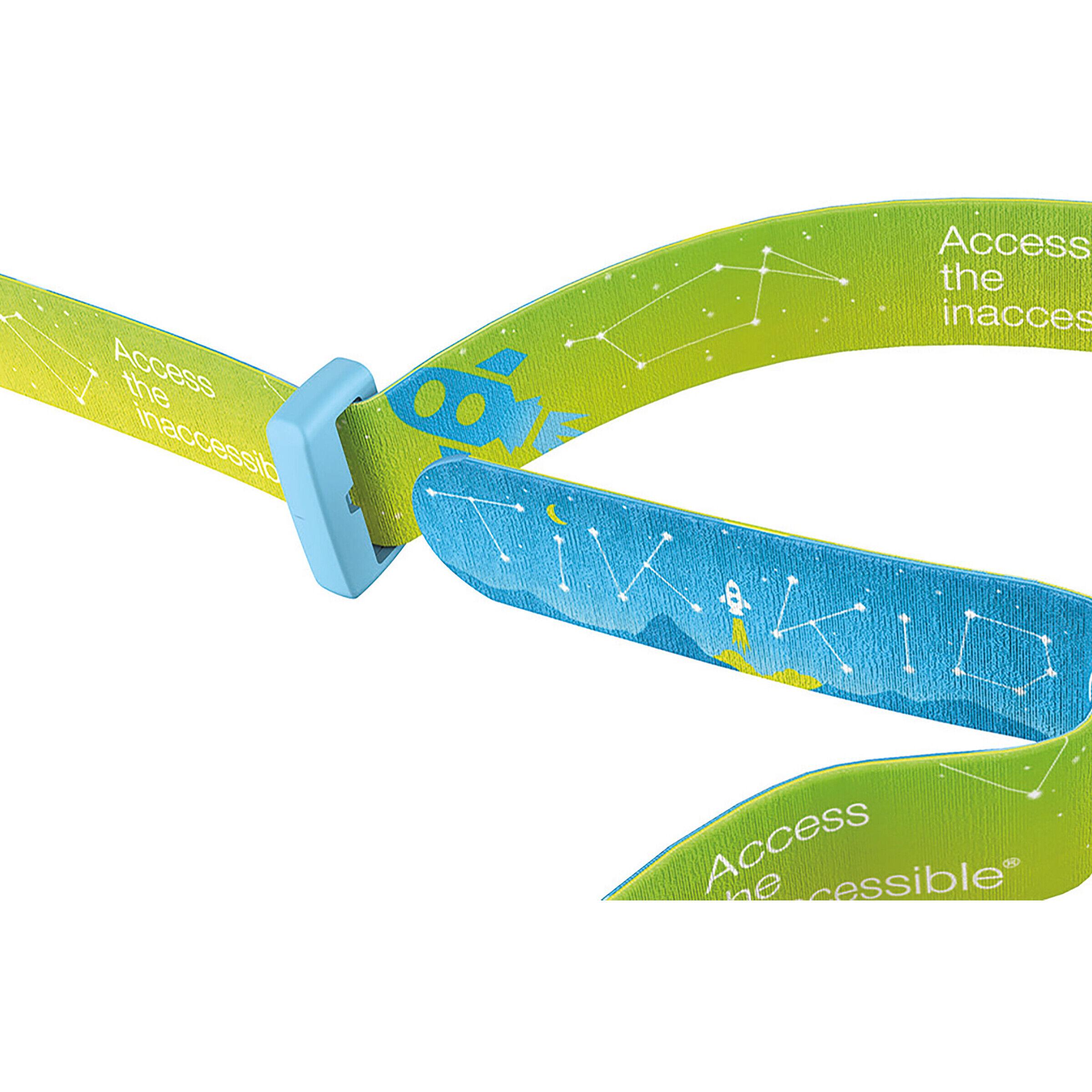 Petzl Led Kinder-Stirnlampe TIKKID Blau inkl 20 Lumen 3 x AAA Batterien max