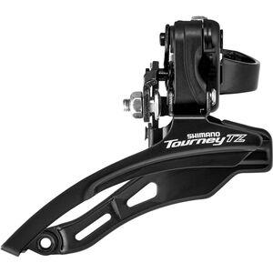 Shimano Tourney TZ FD-TZ500 Umwerfer 3x6/7-fach Down Swing Schelle tief schwarz schwarz