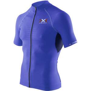 X-Bionic The Trick Biking Shirt SS Full Zip Men Royal Blue/Black bei fahrrad.de Online