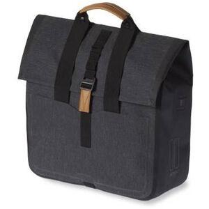 Basil Urban Dry Gepäckträgertasche 25l charcoal melee charcoal melee