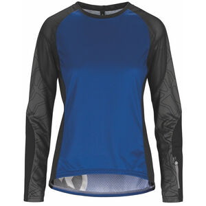 assos Trail LS Jersey Damen twilight blue twilight blue