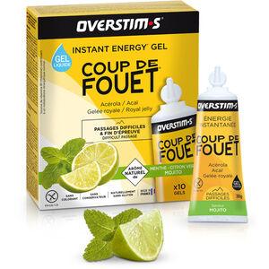 OVERSTIM.s Coup de Fouet Liquid Gel Box 10x30g Mojito