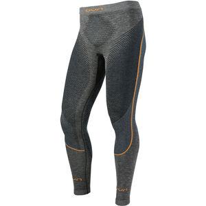 UYN Ambityon Melange UW Long Pants Herren black melange/atlantic/orange shiny black melange/atlantic/orange shiny
