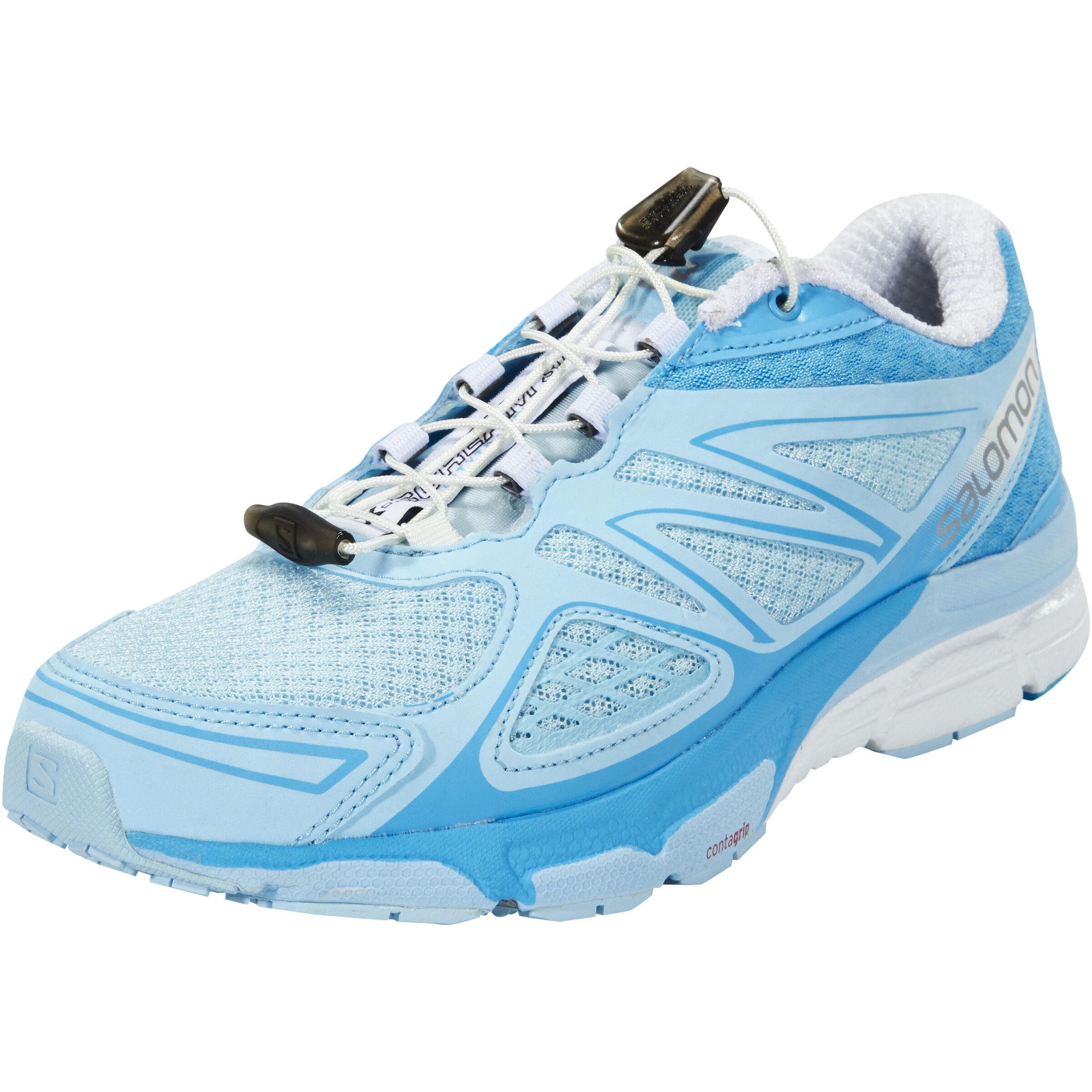Salomon X Scream 3D Trailrunning Shoes Damen airwhiteblue line