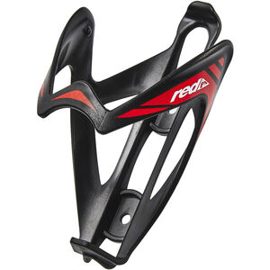 Red Cycling Products Top Bottle Cage schwarz/rot schwarz/rot