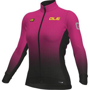 Alé Cycling PRS Dots DWR Longsleeve Jersey Women black-proc. magenta bei fahrrad.de Online