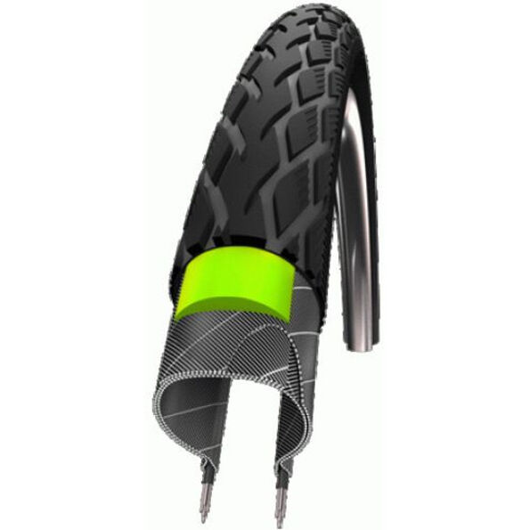 """SCHWALBE Marathon Reifen Performance 24"""" GreenGuard Draht Reflex"""