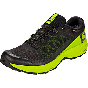 Salomon XA Elevate GTX Shoes Herren black/lime green/black black/lime green/black
