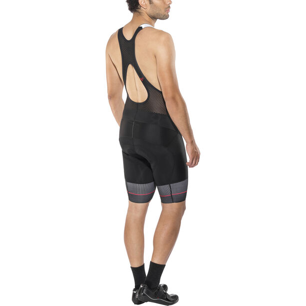 Craft Route Bib Shorts Herren black/bright red