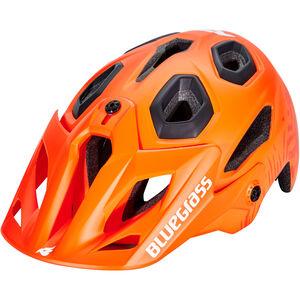 bluegrass Golden Eyes Helm orange/texture/matt