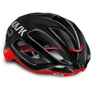 Kask Protone Helm schwarz/rot schwarz/rot