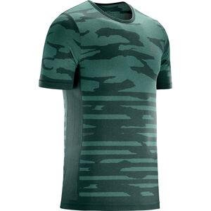 Salomon XA Camo T-Shirt Herren green gables/heather green gables/heather