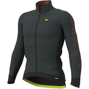 Alé Cycling Graphics PRR Thermo Road Jersey Herren black-fluo yellow black-fluo yellow