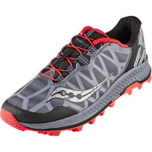 saucony Koa ST Shoes Men Grey/Black/ViziRed bei fahrrad.de Online