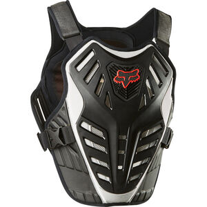 Fox Titan Race Subframe CE Chest Protector black/silver