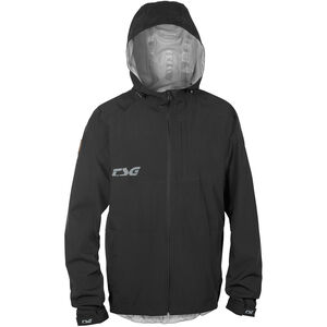 TSG Drop Rain Jacket Herren black black