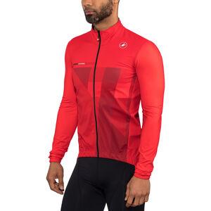 Castelli Pro Fit Light Rain Jacket Men red