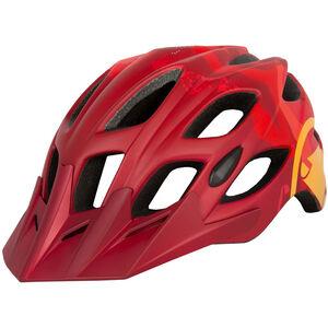 Endura Hummvee Helm rot rot