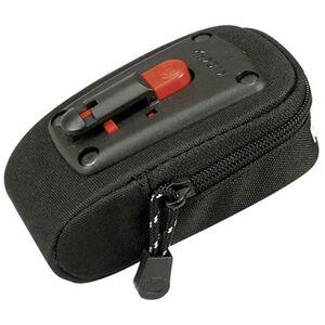 KlickFix Micro 30 Satteltasche schwarz schwarz