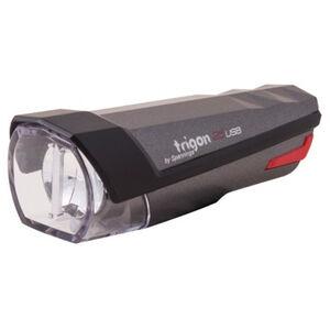 spanninga Trigon 25 Rechargeable Front Light StVZO dark grey