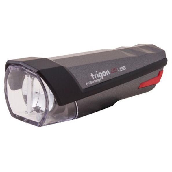 spanninga Trigon 25 Rechargeable Front Light StVZO