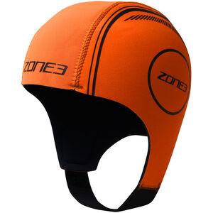 Zone3 Neoprene Schwimmkappe hi-vis orange hi-vis orange