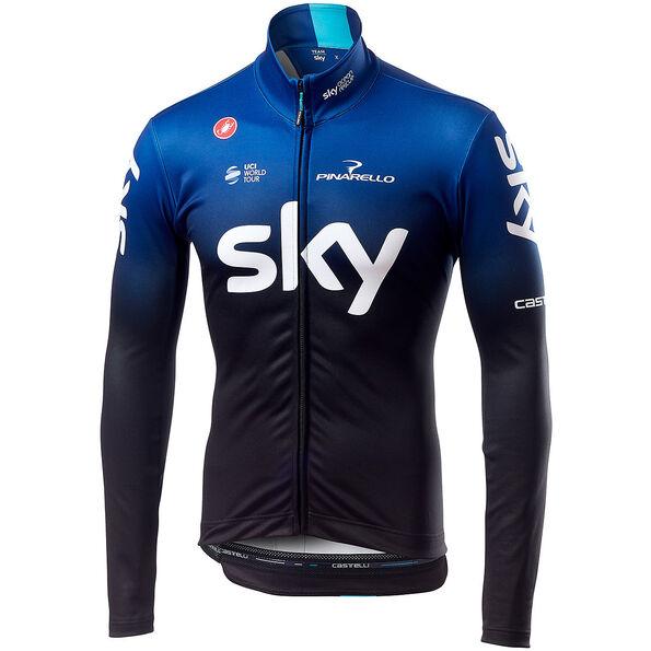 Castelli Team Sky Thermal LS Jersey Herren