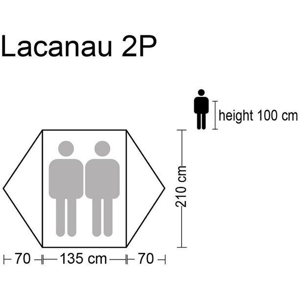 CAMPZ Lacanau 2P Zelt grau/blau