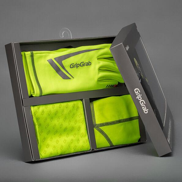 GripGrab Hi-Vis Running Essentials Multipack