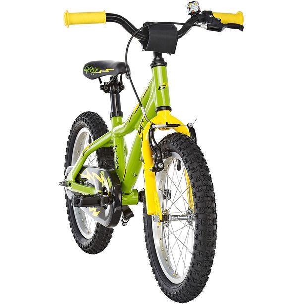 Ghost Powerkid AL 16 Kinder riot green/cane yellow/night black